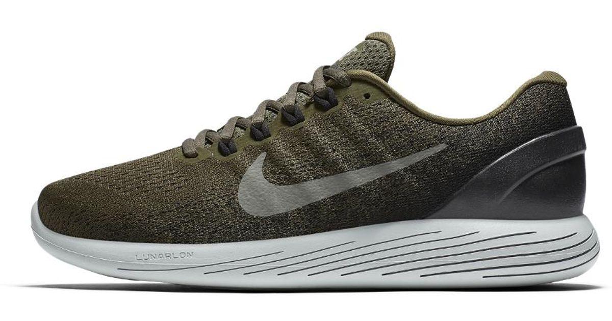 375001d52dafca Lyst - Nike Lunarglide 9 Men s Running Shoe in Black for Men