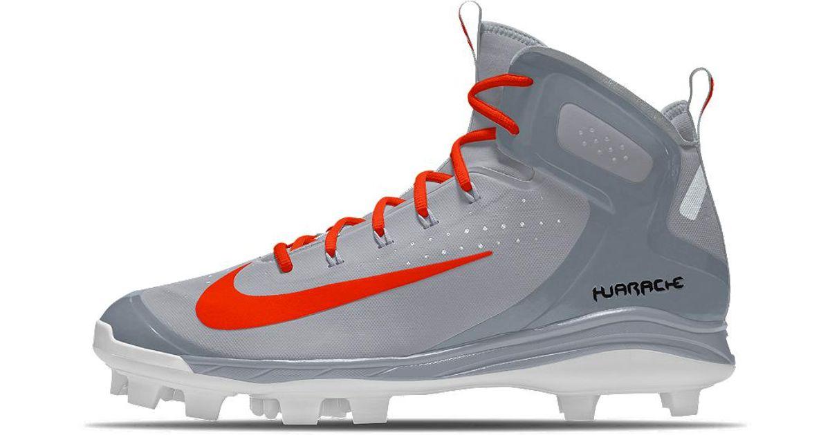 fa7b7d6a7d82 Lyst - Nike Alpha Huarache Elite Mid Mcs Id Men s Baseball Cleats for Men