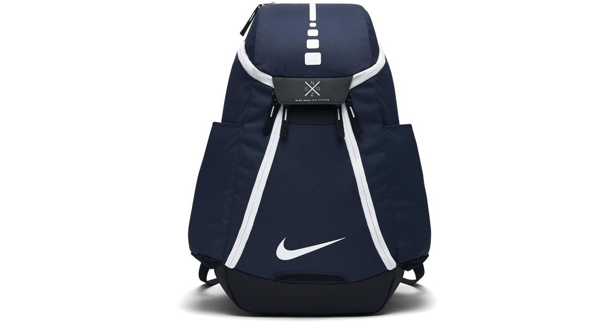 Lyst Nike Hoops Elite Max Air Team 2 0 Basketball Backpack Blue In For Men