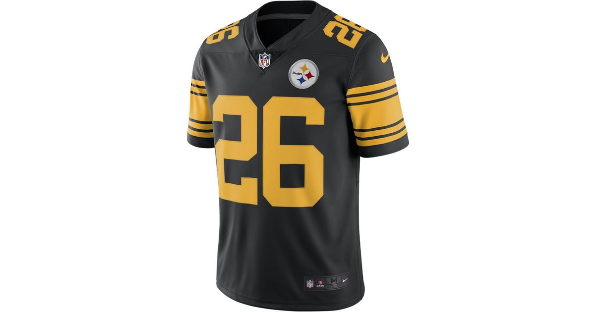 f1e7e1ad0ec Nike Nfl Pittsburgh Steelers Color Rush Limited (le'veon Bell) Men's  Football Jersey in Black for Men - Lyst