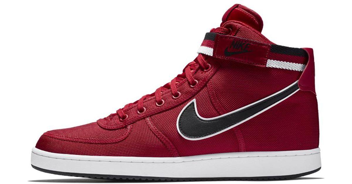 f7343f9046f0 Lyst - Nike Vandal High Supreme Men s Shoe in Red for Men
