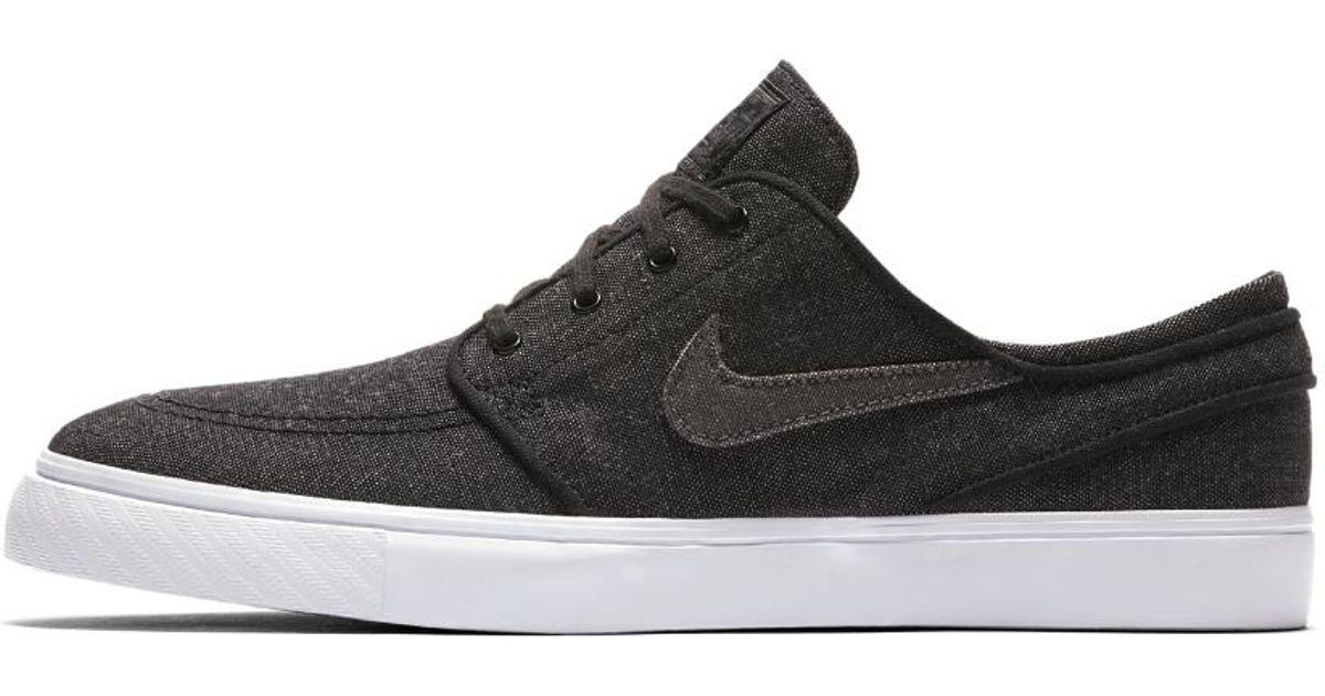 e27d0f4124 Lyst - Nike Sb Zoom Stefan Janoski Canvas Deconstructed Men s Skateboarding  Shoe in Black for Men