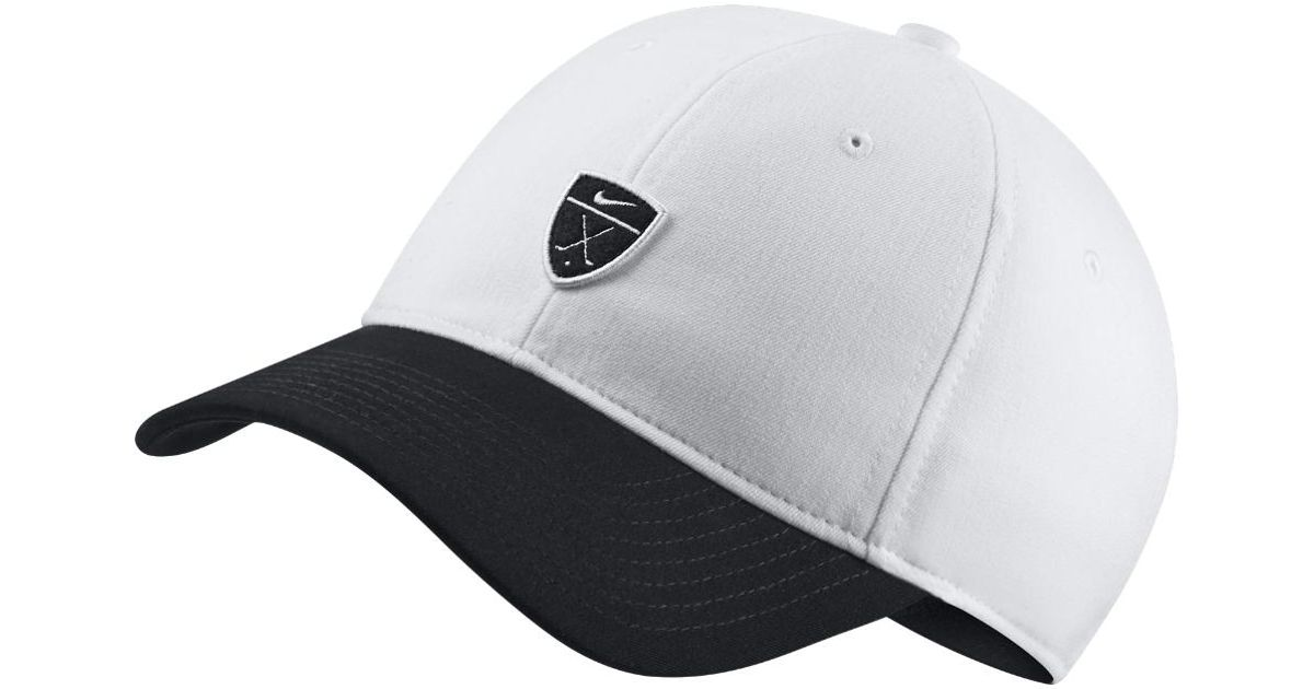 0729ad5ca03a Lyst - Nike Dri-fit Heritage86 Adjustable Golf Hat (white) in Black for Men