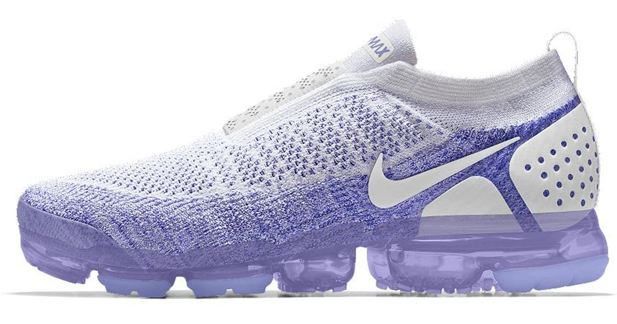 201d563a2f0 Lyst - Nike Air Vapormax Flyknit Moc 2 Id Women s Running Shoe in Purple