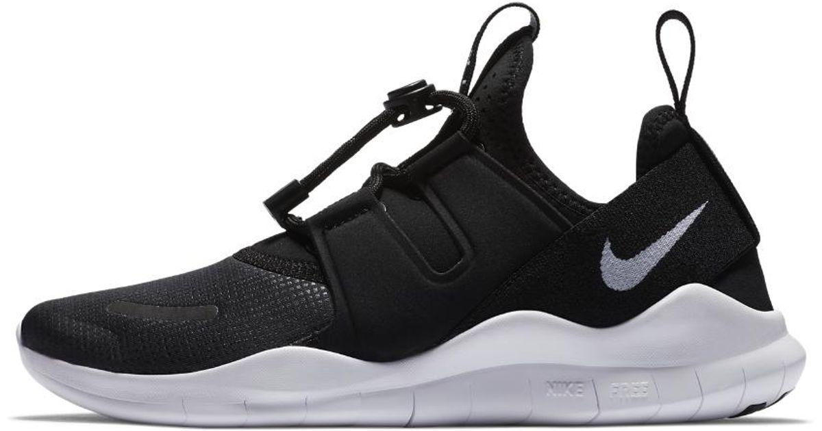 16d92c435bff2 Lyst - Nike Free Rn Commuter 2018 Women s Running Shoe in Black