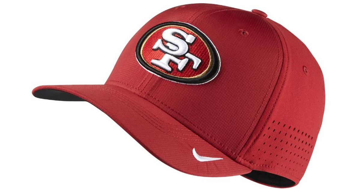 d6899e7c9 Lyst - Nike Swoosh Flex (nfl 49ers) Fitted Hat in Red for Men