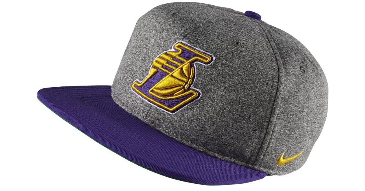 c45e1fee2fa Lyst - Nike Los Angeles Lakers Aerobill Nba Hat (grey) in Gray for Men