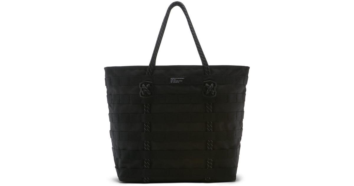39adaefec6 Nike Af1 Tote Bag (black) in Black - Lyst