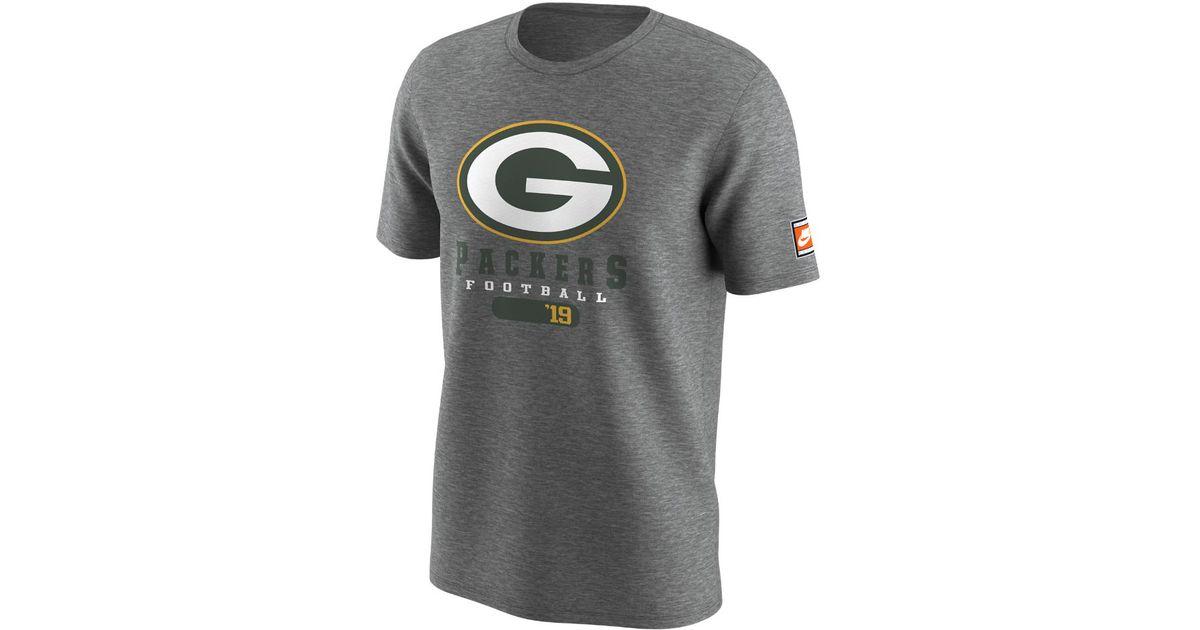 Lyst - Nike Retro 97 (nfl Packers) Men s T-shirt in Gray for Men 9fb9d6d10