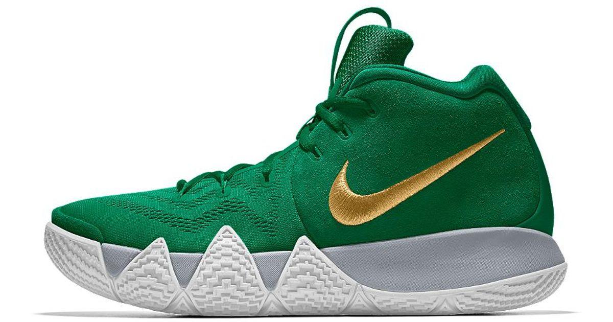aa9e083a0ca3 Lyst - Nike Kyrie 4 Id Men s Basketball Shoe in Green for Men