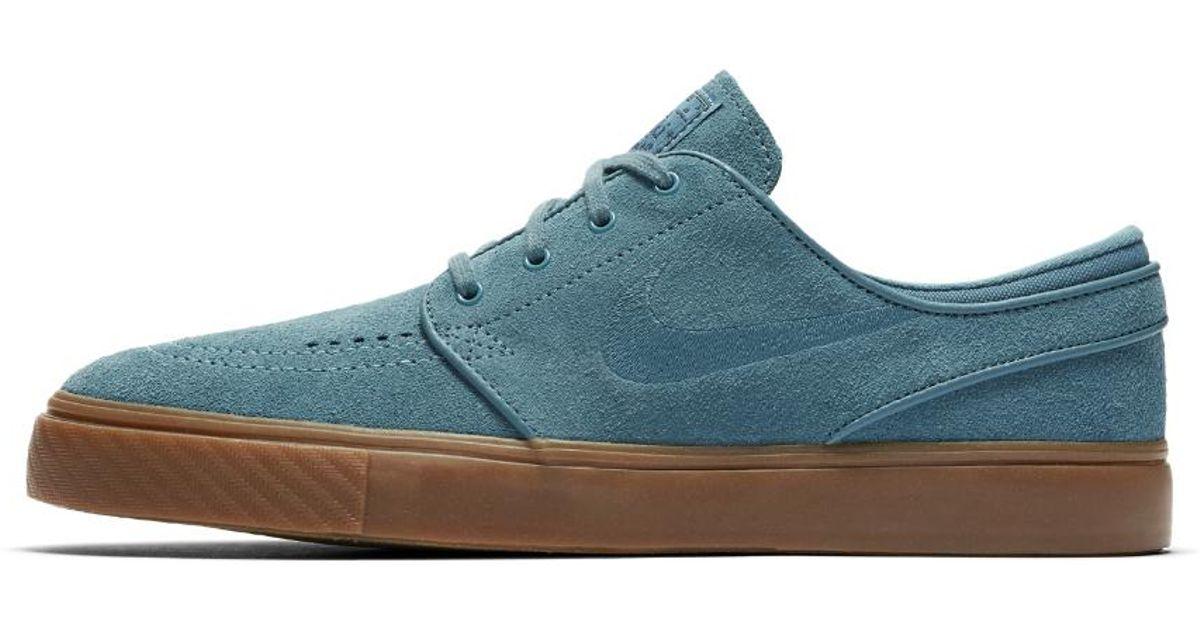 Lyst - Nike Sb Zoom Stefan Janoski Men s Skateboarding Shoe in Blue for Men 81e7e7e163