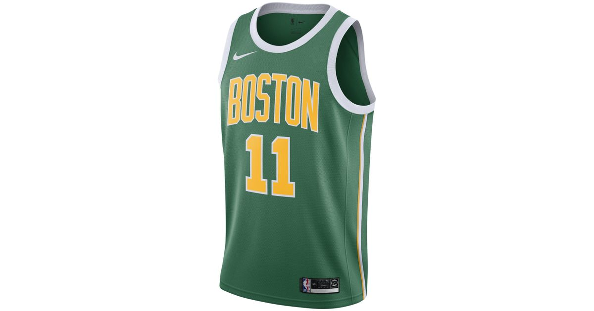 61bfd88d8 ... Nike Kyrie Irving Earned City Edition Swingman (boston Celtics) Nba  Connected Jersey in Green ...