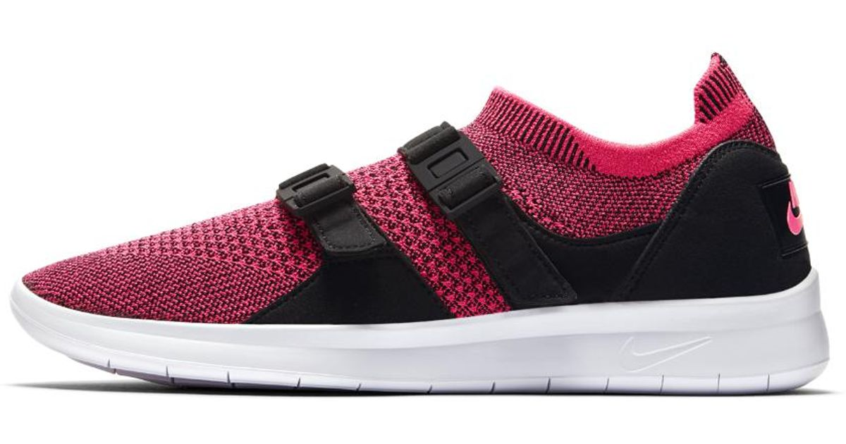 60d98d68358ad8 Lyst - Nike Air Sock Racer Ultra Flyknit Women s Shoe in Pink