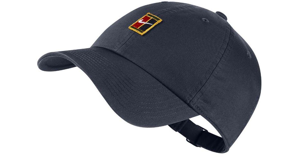 cc093d47920 Lyst - Nike Court Heritage 86 Adjustable Tennis Hat (blue) in Blue for Men