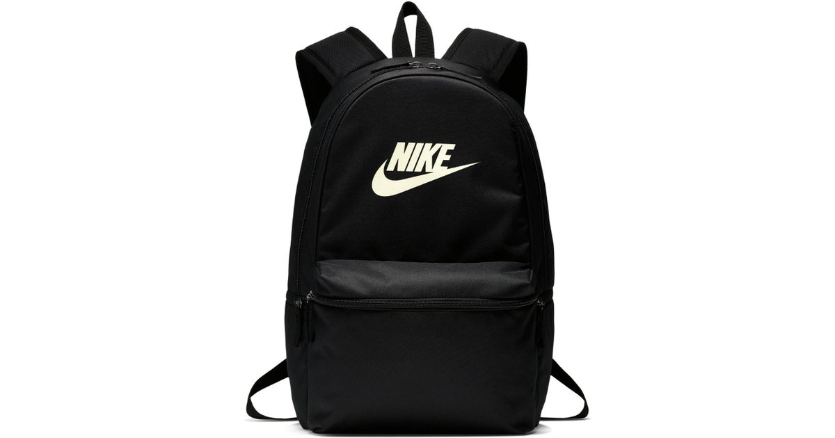 Nike Heritage Backpack in Black - Lyst a543614c435b3