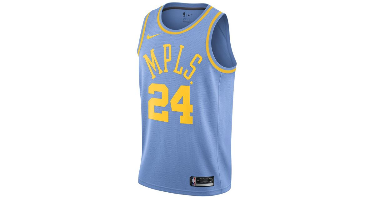 88c37d4cc91f Lyst - Nike Kobe Bryant Icon Edition Swingman (los Angeles Lakers) Men s  Nba Jersey in Blue for Men