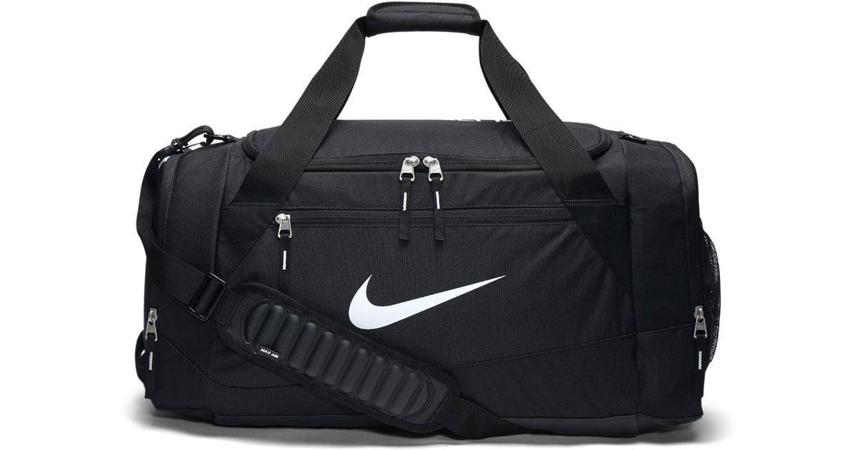 Lyst - Nike Hoops Elite Max Air Team (large) Duffel Bag (black) in Black  for Men