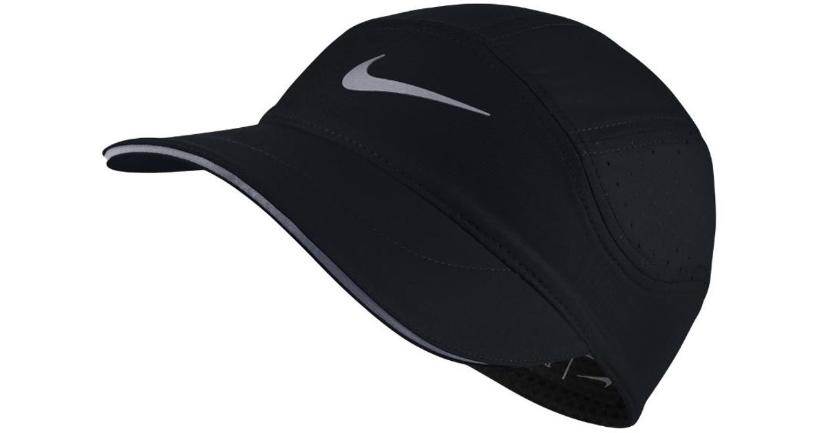 a4a9a9e5da5 ... france lyst nike aerobill womens running hat black in black for men  850d7 afce6