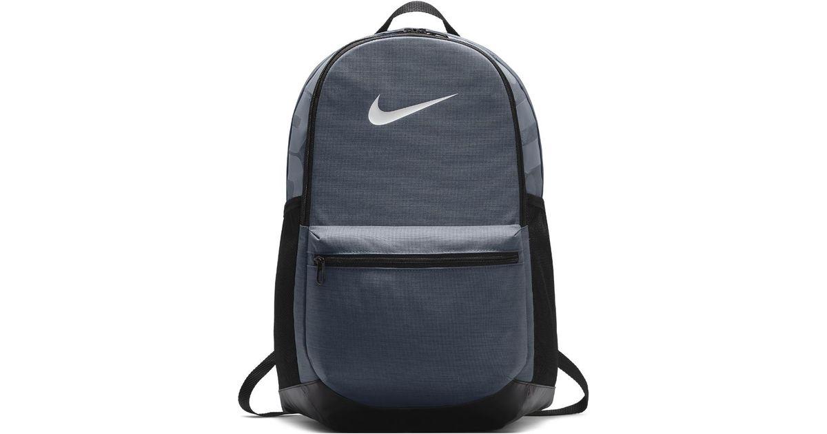 Lyst - Nike Brasilia (medium) Training Backpack (grey) in Gray for Men ae3789bcfe3e1