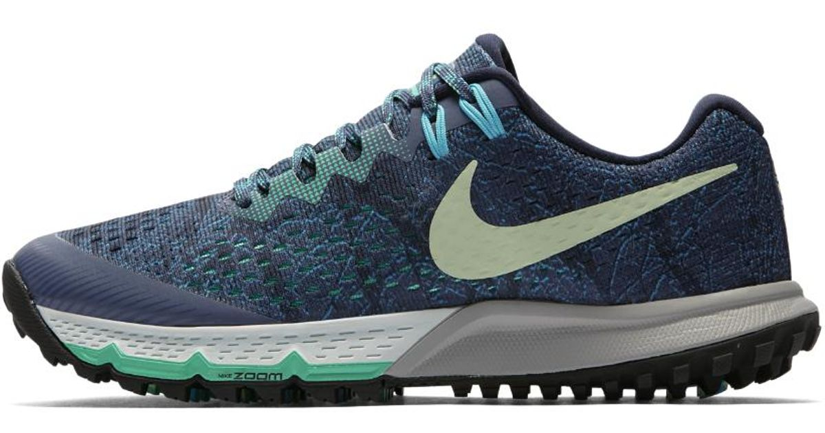 huge selection of 57ff9 84185 Lyst In Shoe Nike Terra Running Women s Air For Blue Men Zoom Kiger 4 rrz4O