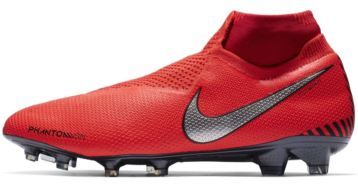 7f8523803db0 Nike Phantomvsn Elite Dynamic Fit Game Over Fg Firm-ground Football Boot in  Red - Lyst