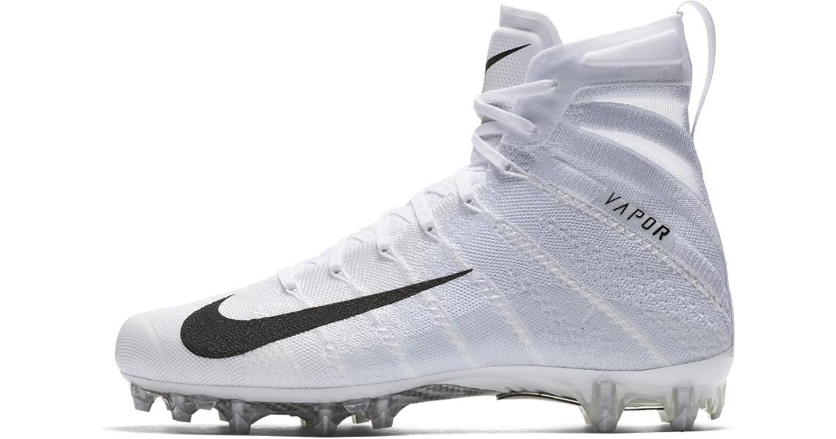 1b43afd01162 Lyst - Nike Vapor Untouchable 3 Elite Football Cleat in White for Men