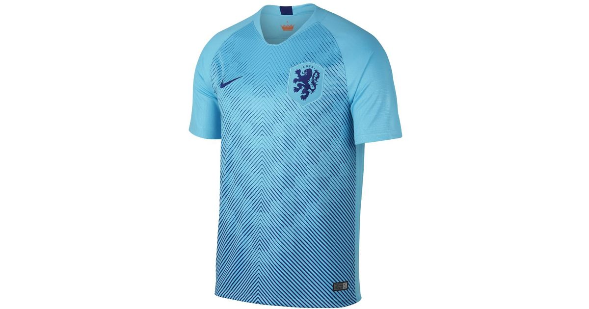 a555b9f19e Lyst - Nike 2018 Netherlands Stadium Away Men s Soccer Jersey in Blue for  Men
