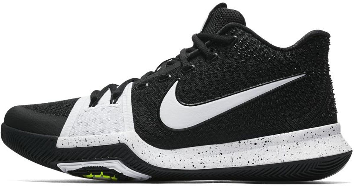 detailed look 0676f 0c40b best price buy nike kyrie 3 aqua kixify marketplace 7a1a5 06b6a  promo code  for lyst nike kyrie 3 tb mens basketball shoe in black for men 433ed