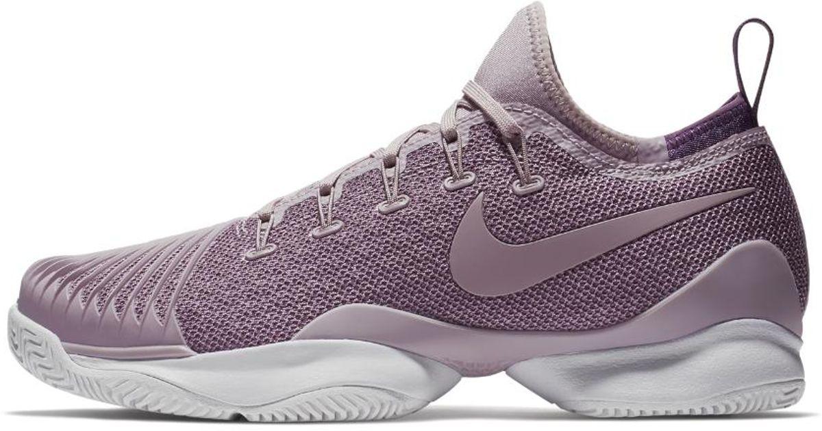 brand new 0576d 71e78 Nike Court Air Zoom Ultra React Hc Women s Tennis Shoe in Purple - Lyst