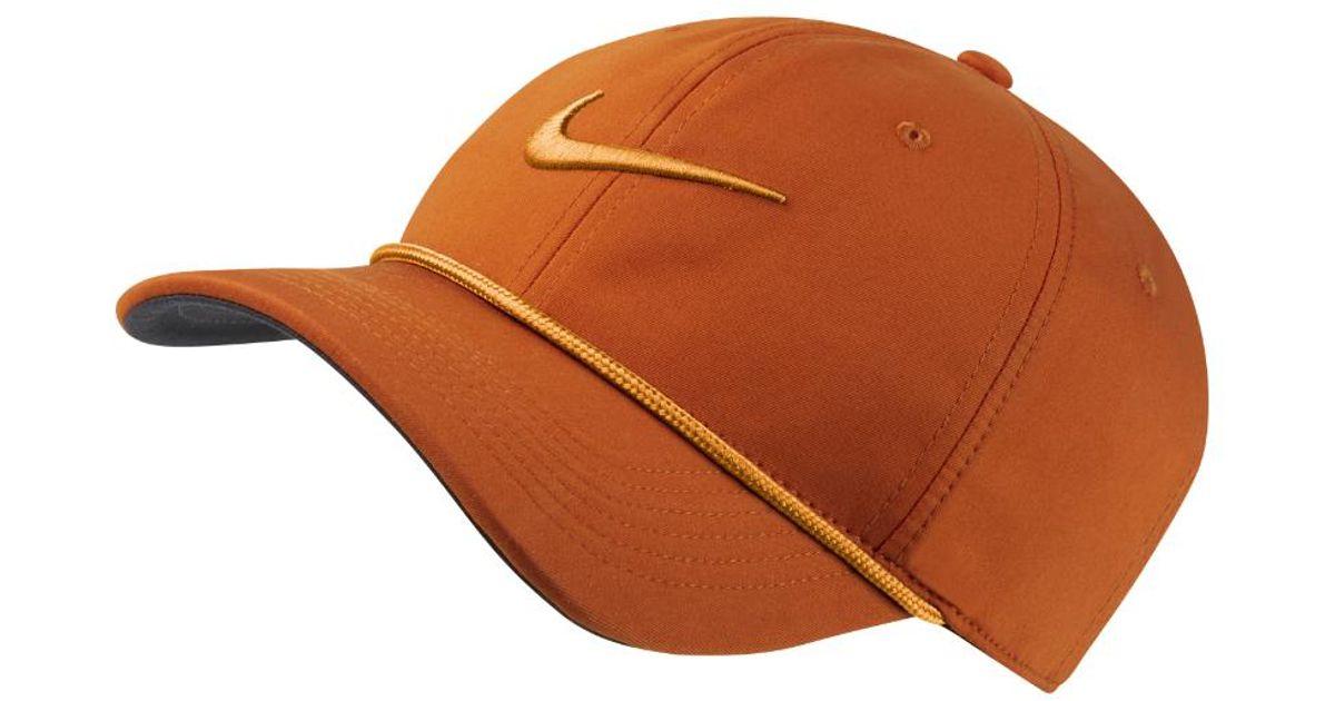 Lyst - Nike Aerobill Classic99 Golf Hat (orange) in Orange for Men 82ecc012fca