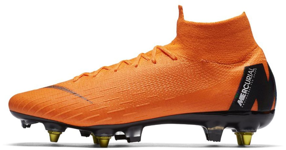 pretty nice 491f4 ec611 Lyst - Nike Mercurial Superfly 360 Elite Sg-pro Anti-clog Soft-ground Soccer  Cleats in Orange for Men