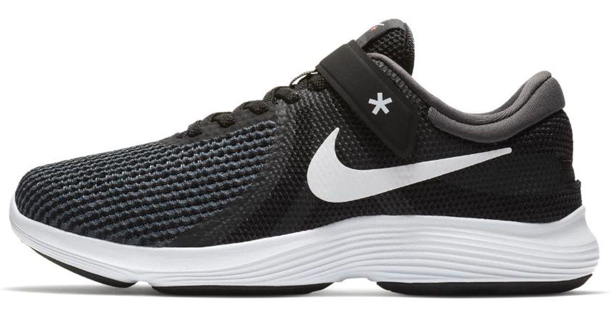9aae11cbb77c Lyst - Nike Revolution 4 Flyease (wide) Women s Running Shoe in Black for  Men