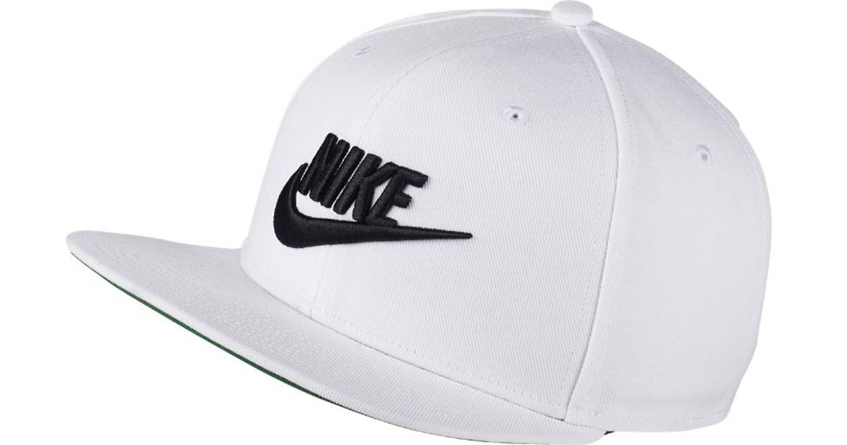 21dc8c6c566 Lyst - Nike Sportswear Pro Adjustable Hat (white) - Clearance Sale in White  for Men
