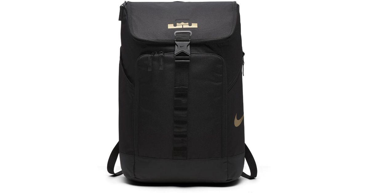 0eca8748f6 Lyst - Nike Lebron Max Air Ambassador Backpack (black) in Black