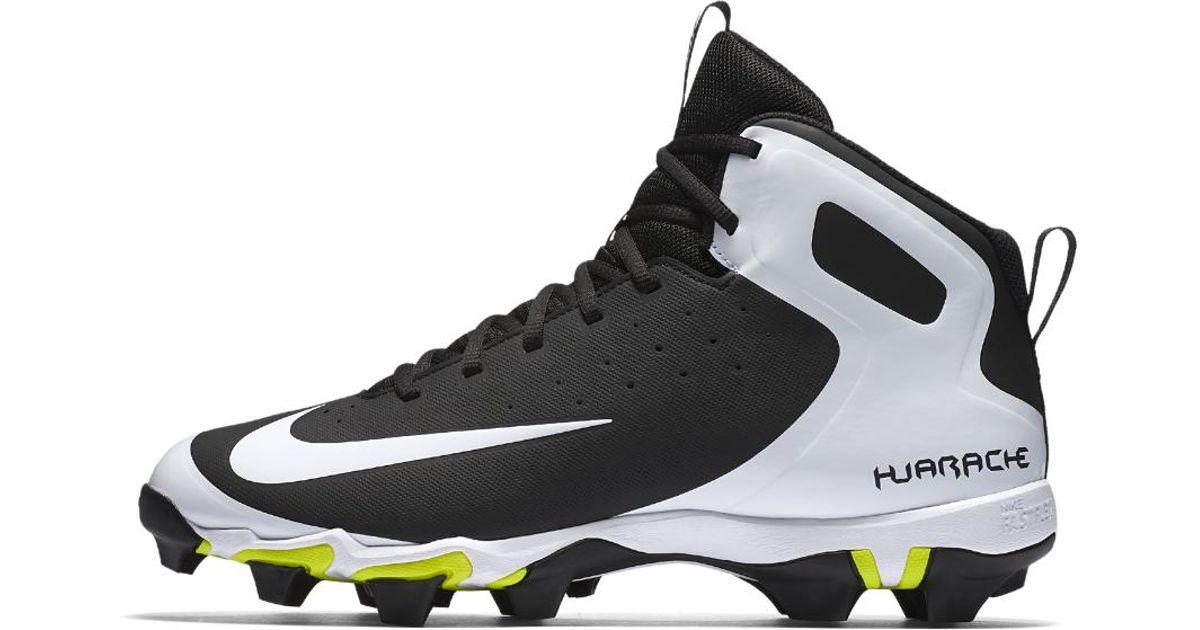 4425dfc2d6383 Lyst - Nike Alpha Huarache Keystone Mid Men s Baseball Cleats in Black for  Men