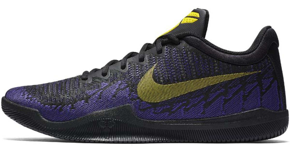 2ce8c634a59 Nike Mamba Rage Men s Basketball Shoe in Blue for Men - Lyst