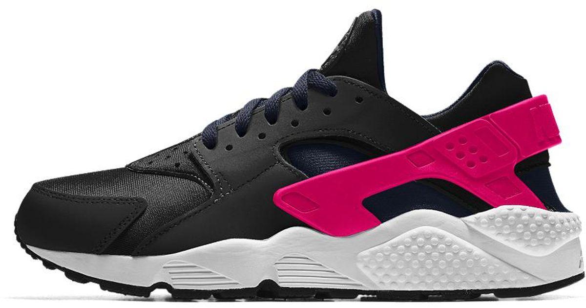 debb12e925b8 Lyst - Nike Air Huarache Essential Id Women s Shoe in Black