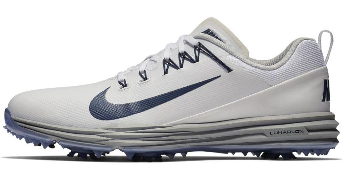 30a0bb519547 Lyst - Nike Lunar Command 2 Men s Golf Shoe in White for Men