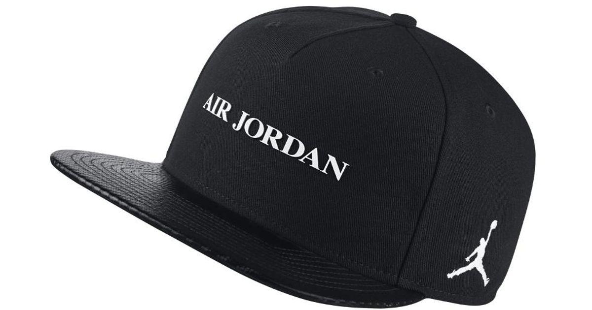 d64bf167a45 Lyst - Nike Jumpman Pro Aj 10 Adjustable Hat