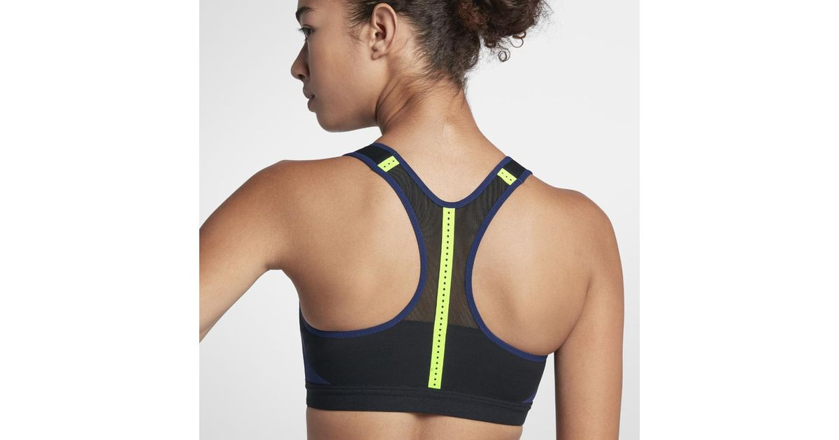 66dcc9a1bfa Nike Motion Adapt Women s High Support Sports Bra in Blue - Lyst