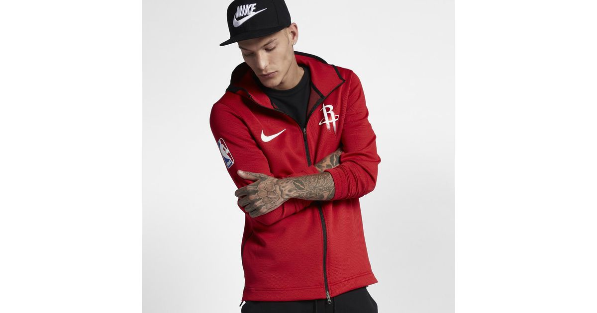 ac949993b42 Nike Houston Rockets Therma Flex Showtime Men's Nba Hoodie in Red for Men -  Lyst