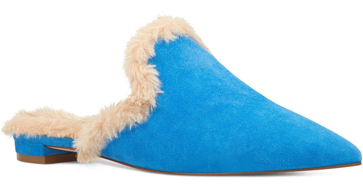 Lyst Nine Slides West Ashlena Slides Nine in Blau 2cdd2e