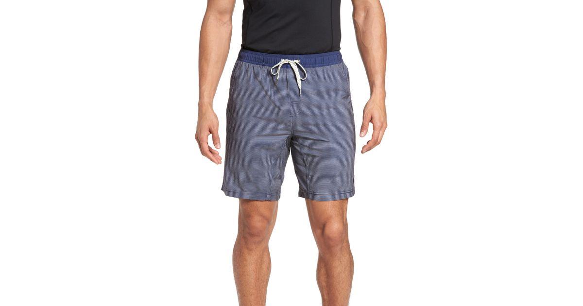 7e22f31750 Vuori Kore Performance Shorts in Blue for Men - Lyst