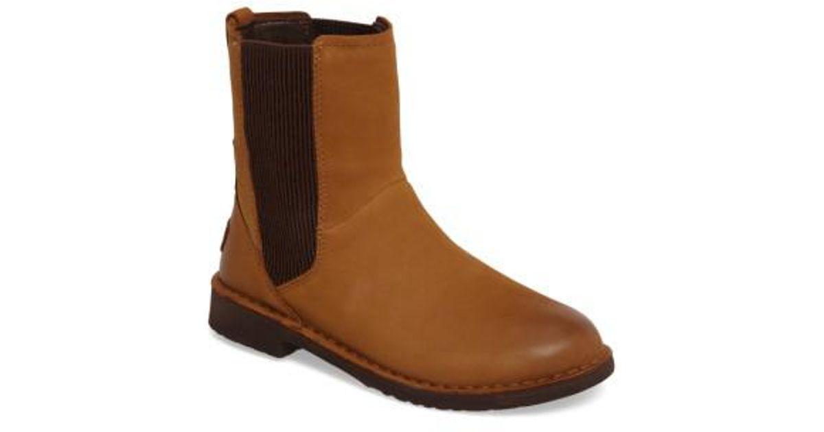 041fe2cf452 Ugg - Brown Ugg Larra Boot - Lyst