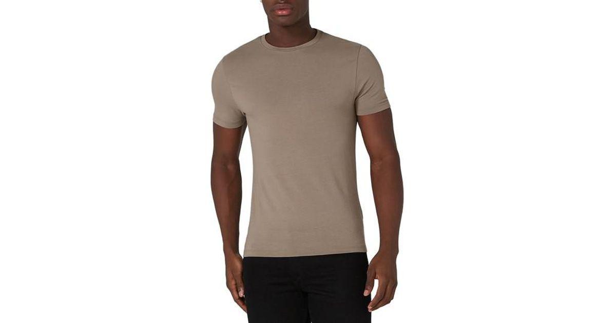 807213e0 TOPMAN Ultra Muscle Fit T-shirt in Green for Men - Lyst