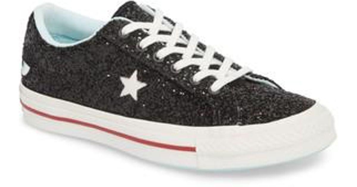 384a04d41242 Lyst - Converse X Chiara Ferragni One Star Ox Sneaker in Black