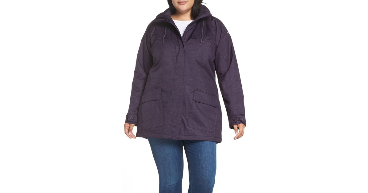 Columbia Lookout Crest Omni-tech Waterproof Jacket in ...