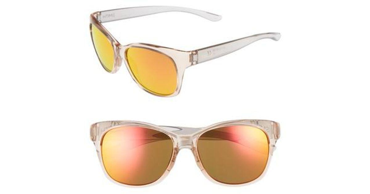 24c8990191 Lyst - Smith Feature Chromapop 54mm Polarized Sunglasses -