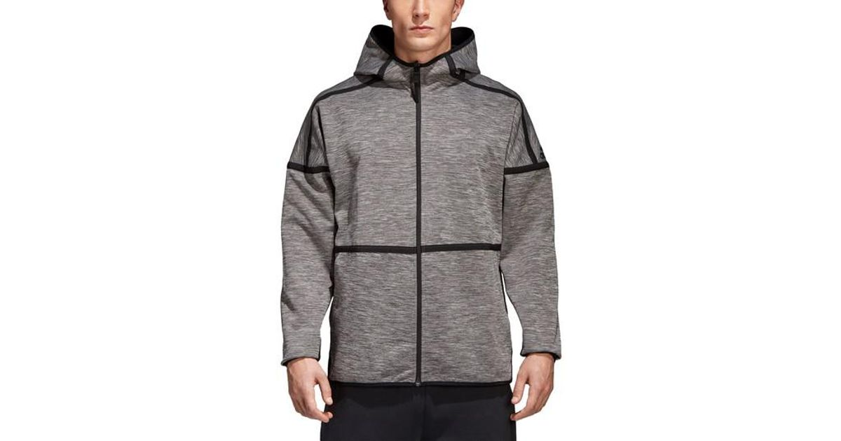 low priced 2a3c6 b01b2 Lyst - Adidas Zne Regular Fit Reversible Hooded Jacket in Gr