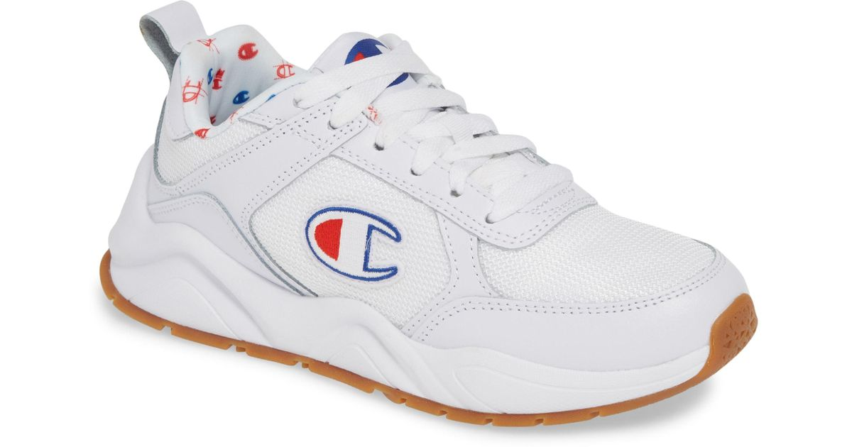 67d30fc9d Champion - White 93 Eighteen Classic Sneaker - Lyst